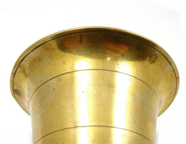 Brass Mortar and Pestle 18th Century