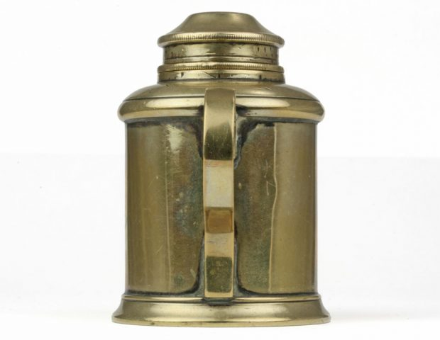 Brass Cupping Lamp by Arnold & Sons