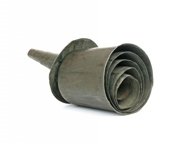 ear trumpet telescopic tin 1903