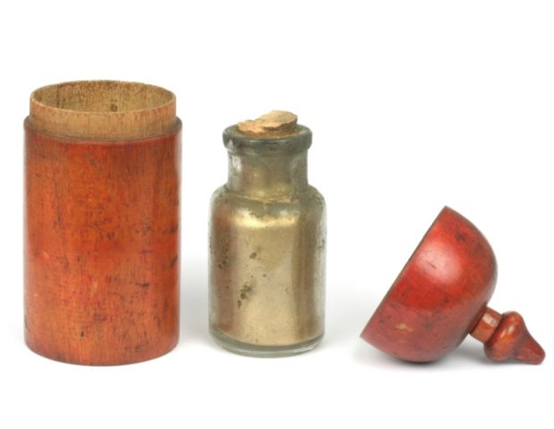 Apothecary Jar Gold Powder
