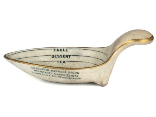 Medicine Spoon Maw Son & Thompson 1873