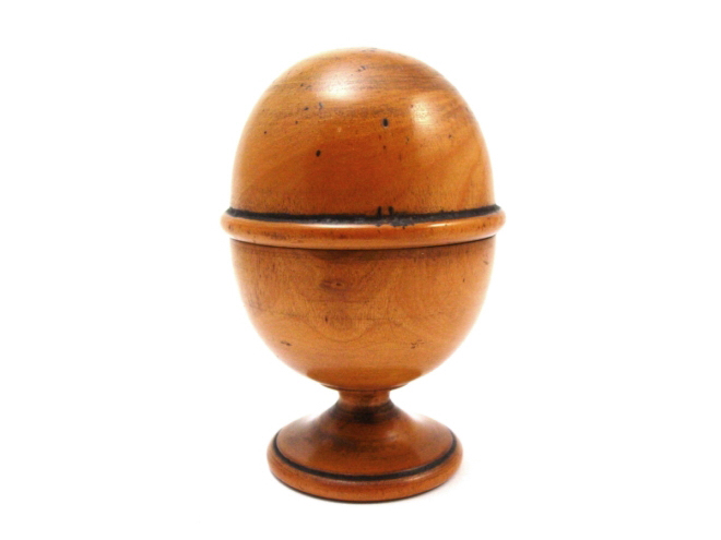19th Century Boxwood Pill Silverer